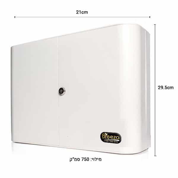 """מפיץ ריח חשמלי A1000 –  לחללים של עד 300 מ""""ר"""